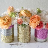 glitter-can-vase
