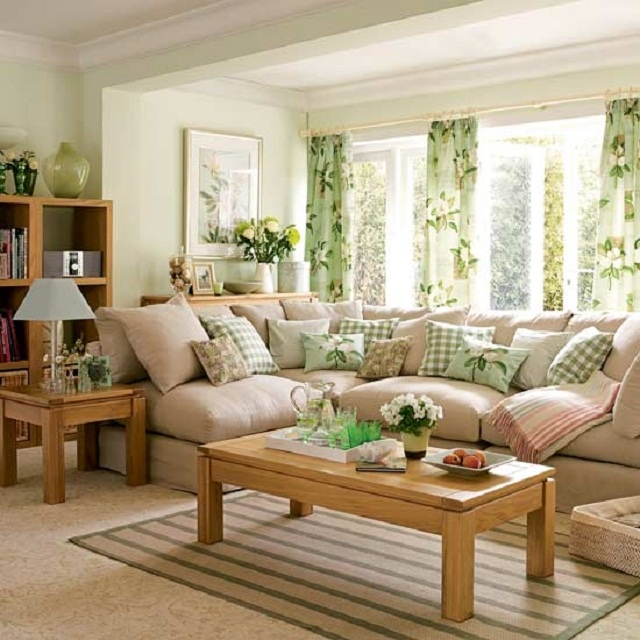 28 Green And Brown Decoration Ideas: How To Have A Tidy Living Room