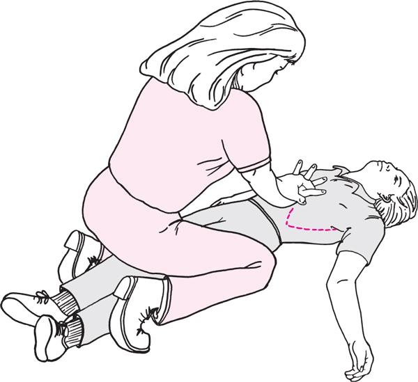 unconcious child manouver