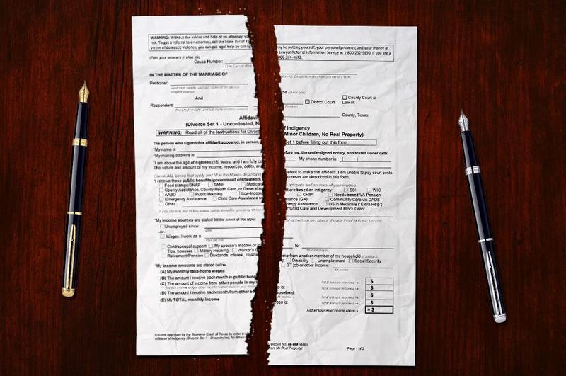 How to divorce in Texas – divorce procedure