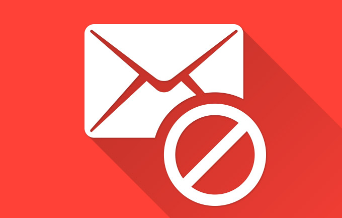 Removing your e-mail address from the spam list