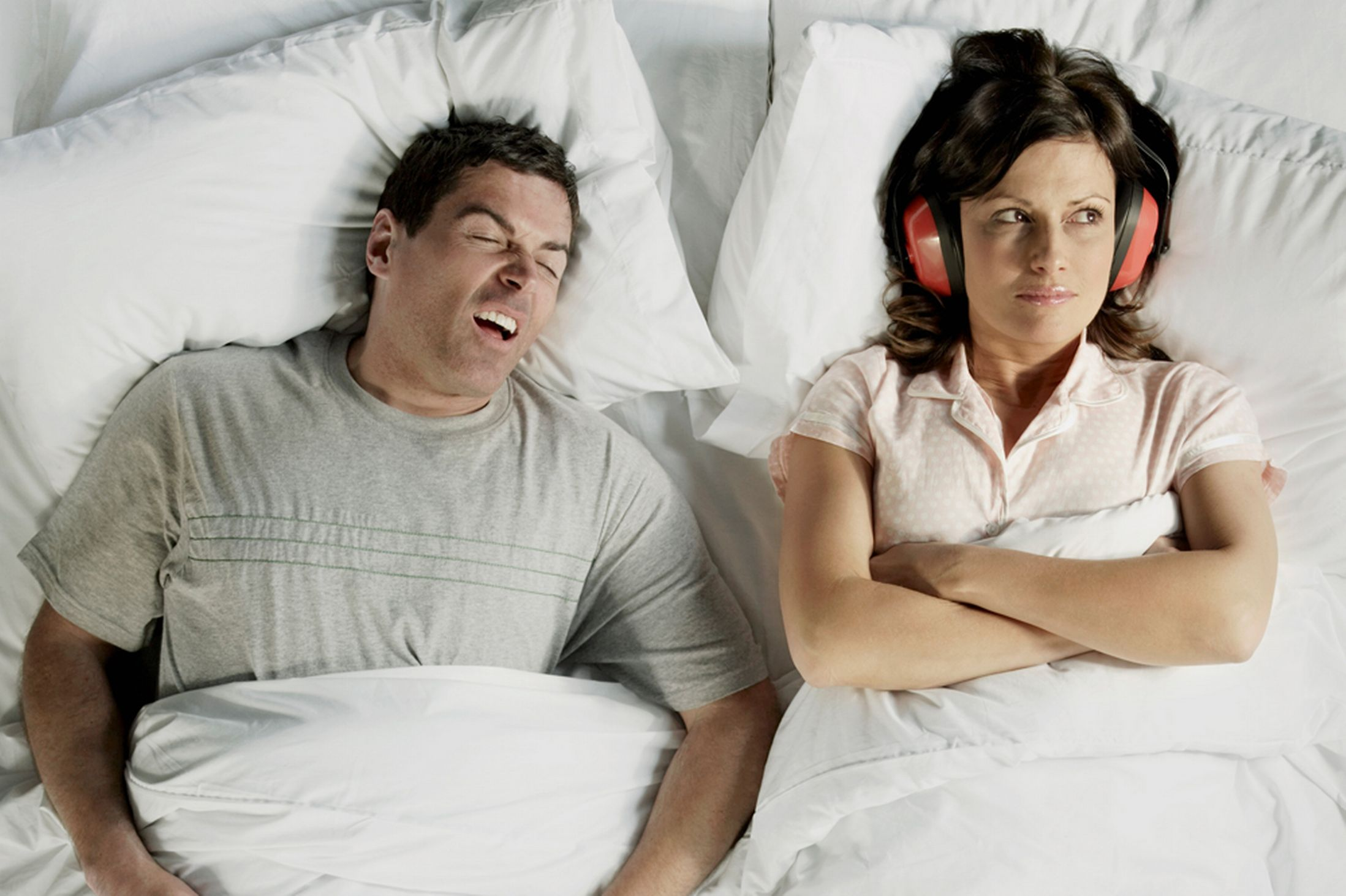 How to avoid snoring problem