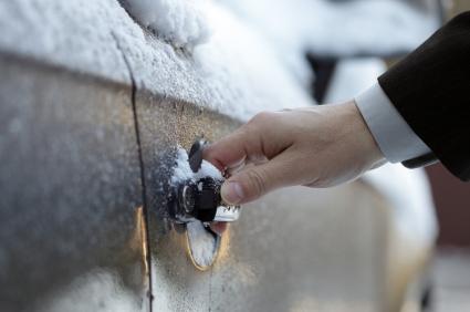 How to unfreeze the car doors