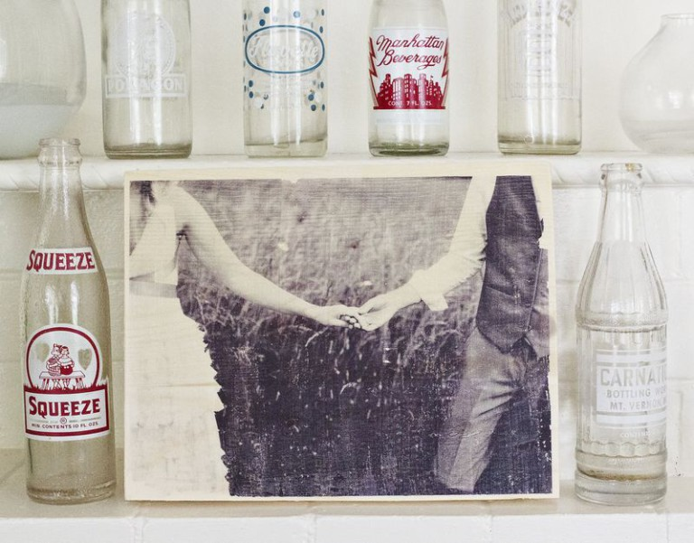 How to make wood transfer photo
