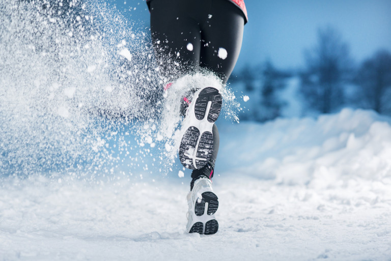 Exercising during the winter time