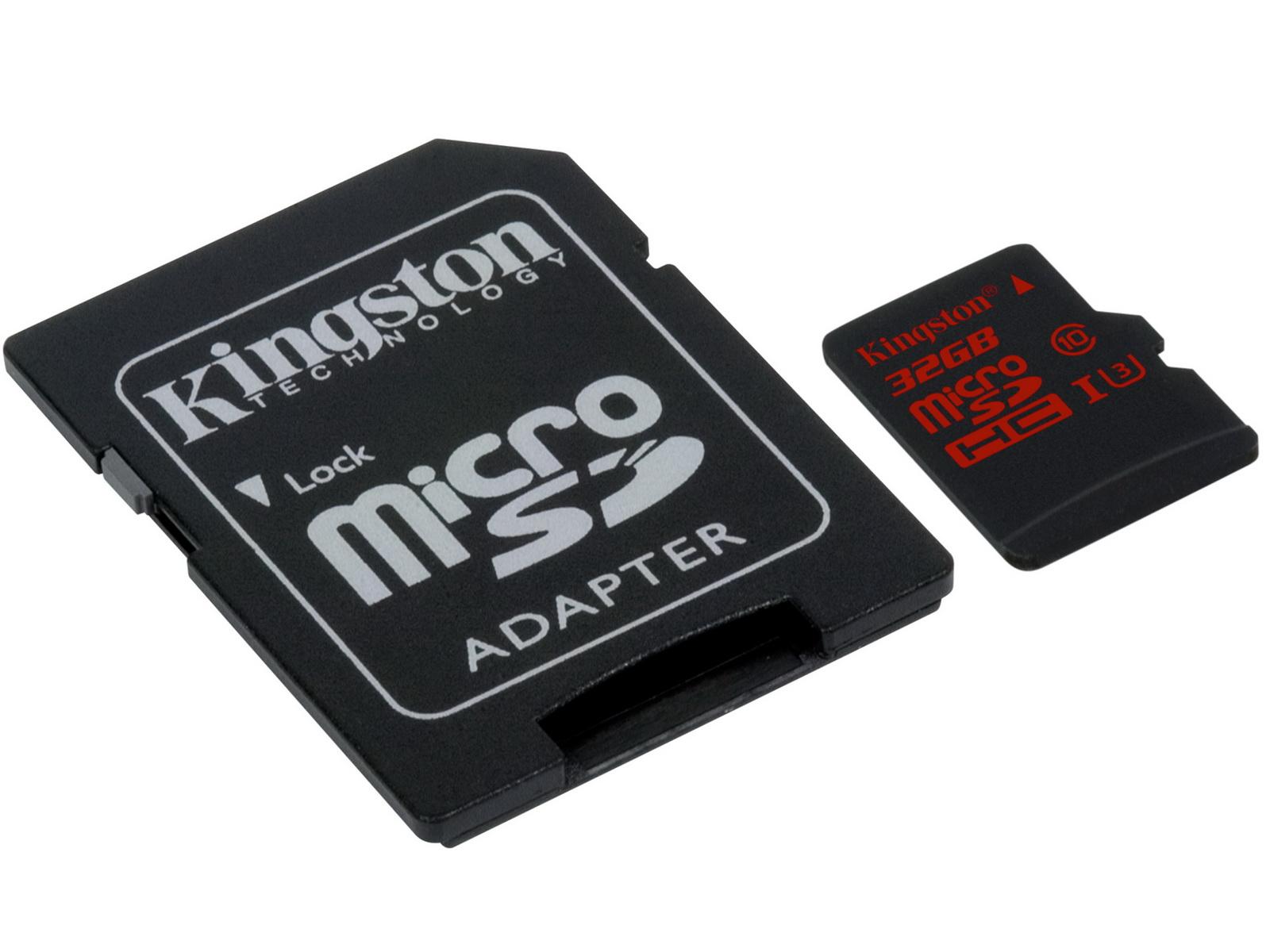 Kingston Digital SDCA3 microSD card