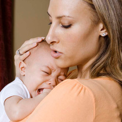 How to help your child during colic