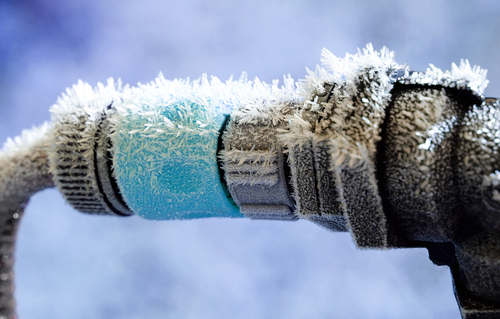 , How to prevent freezing of the water pipes