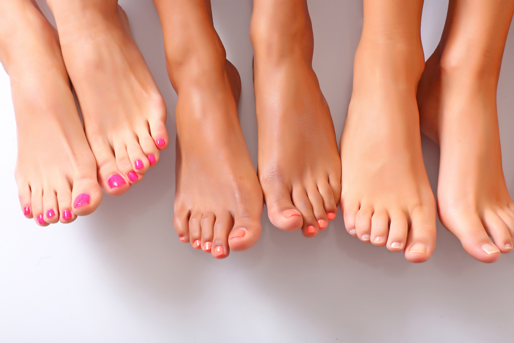 , How to get rid of the fungi's on your feet