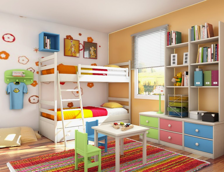 Things to have in mind while decorating children's room