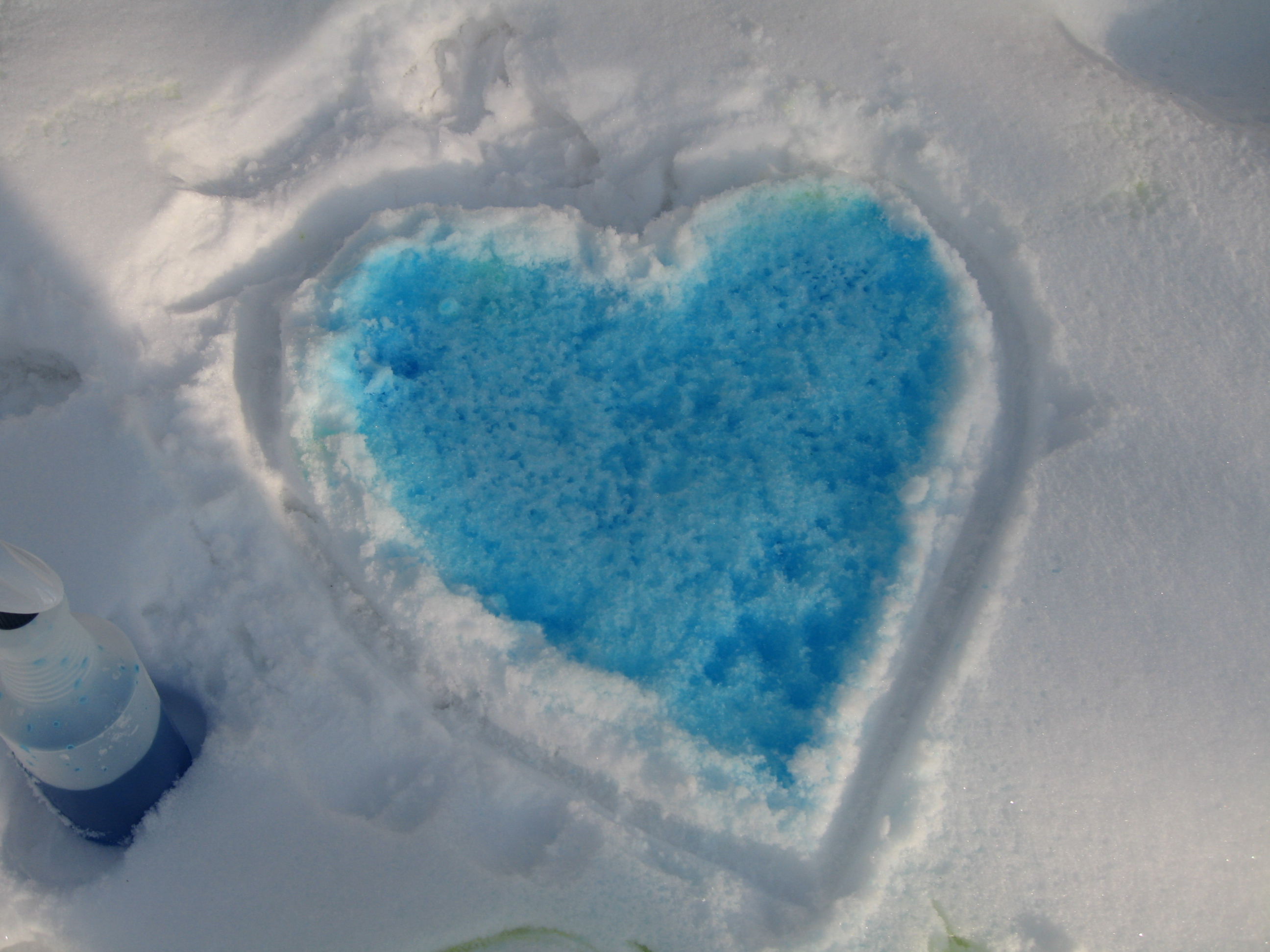 , How to make a simple snow paint