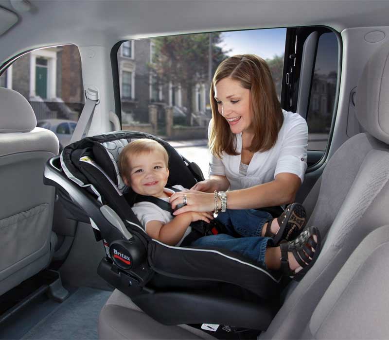 , How to install an infant car seat