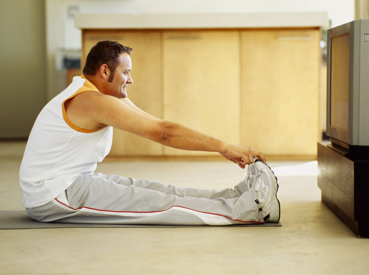 , Exercises in front of TV