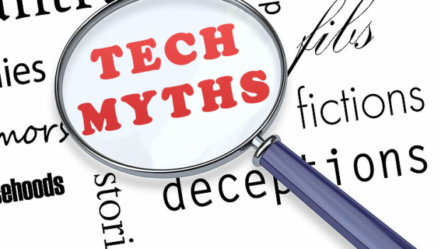 Breaking the top 8 technology myths
