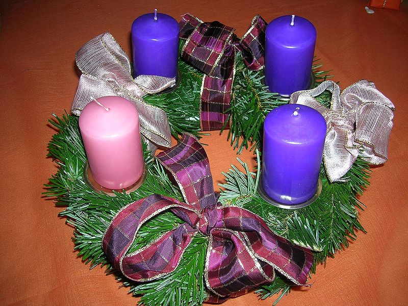 How to make advent wreath?