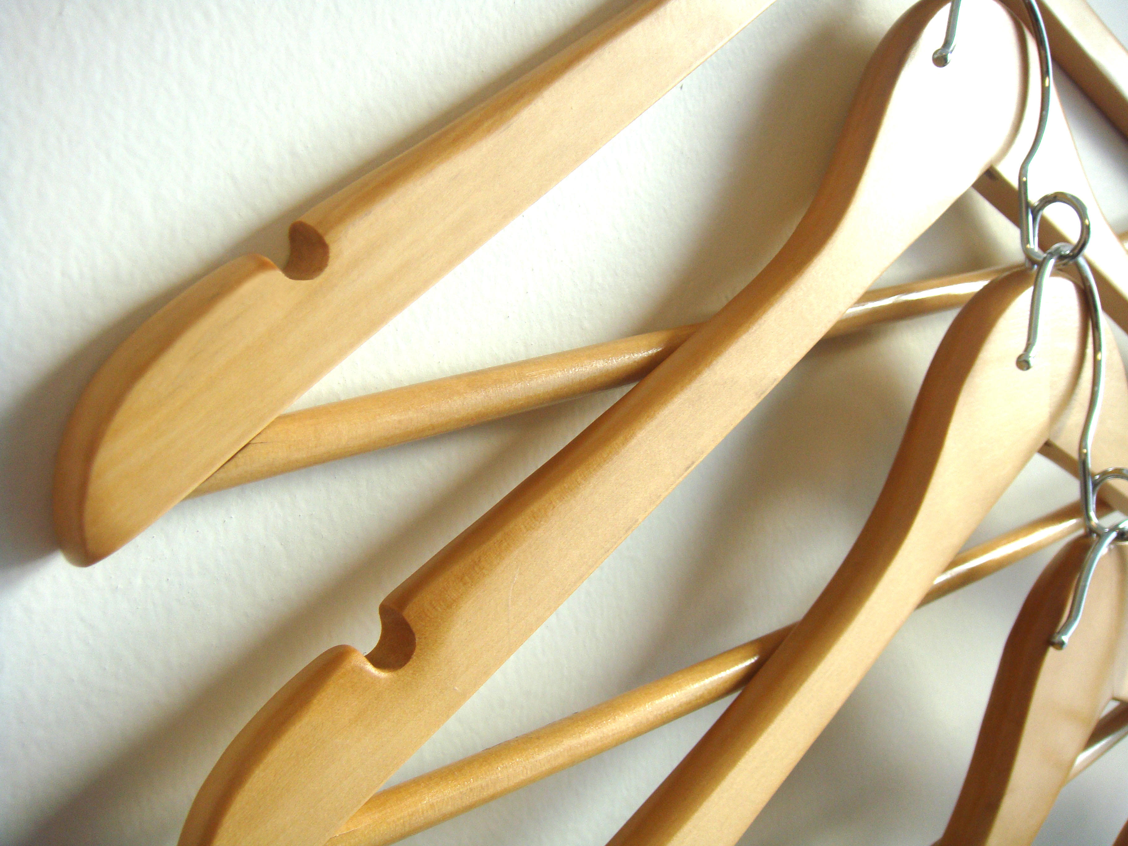 , How to make hangers for clothes