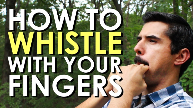 , How to whistle with your fingers