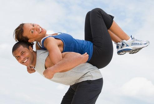 Benefits of couple's workout