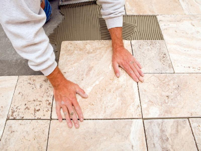 , How to tile a floor