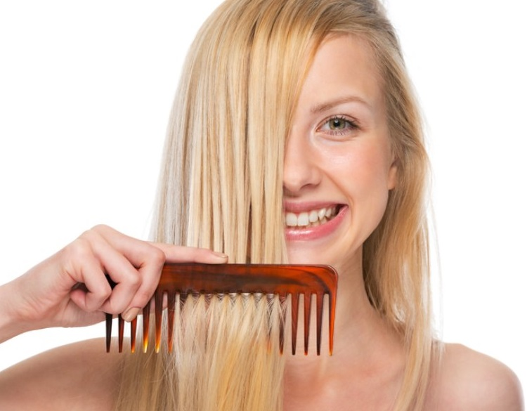 Most common mistakes of hair combing