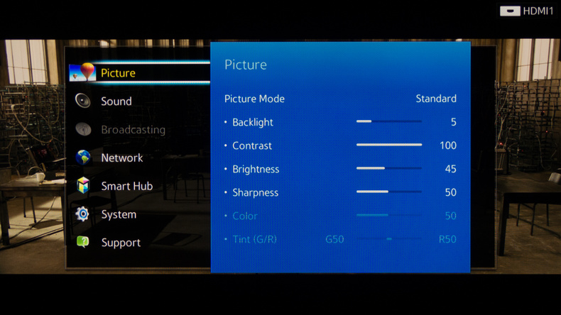, How to sharpen the picture on TV