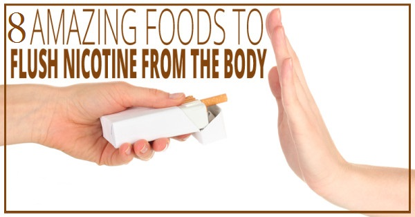 How to remove nicotine from your organism