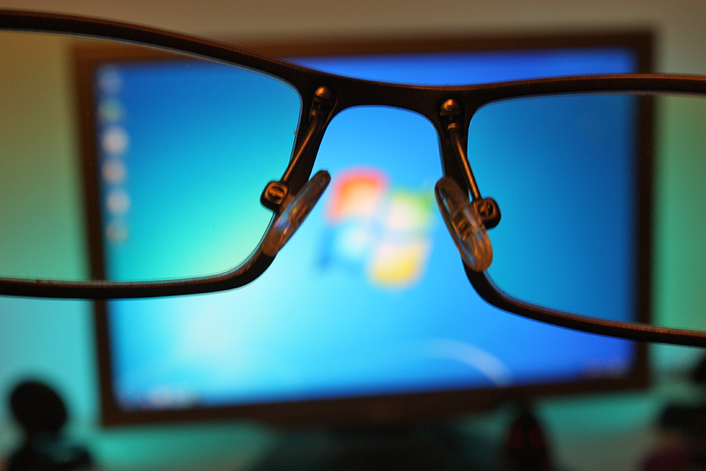 , How to protect your eyes from the display