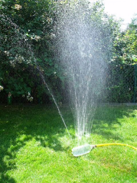 DIY water sprinkler