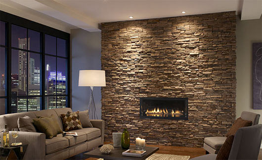 DIY How to install decorative stones on the wall