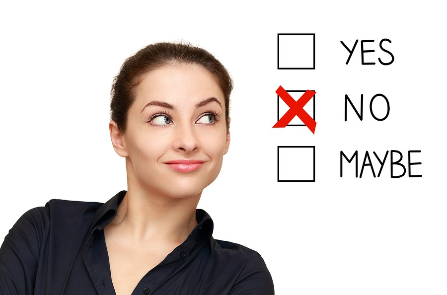 , How to reject others – say YES to saying NO