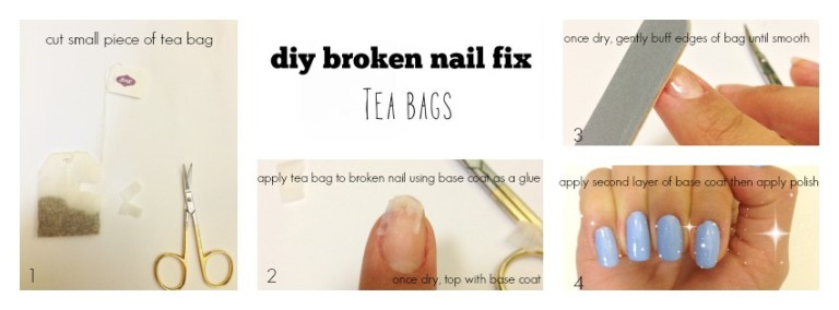 How to simply fix a broken nail