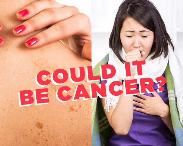 Most often ignored symptoms of cancer