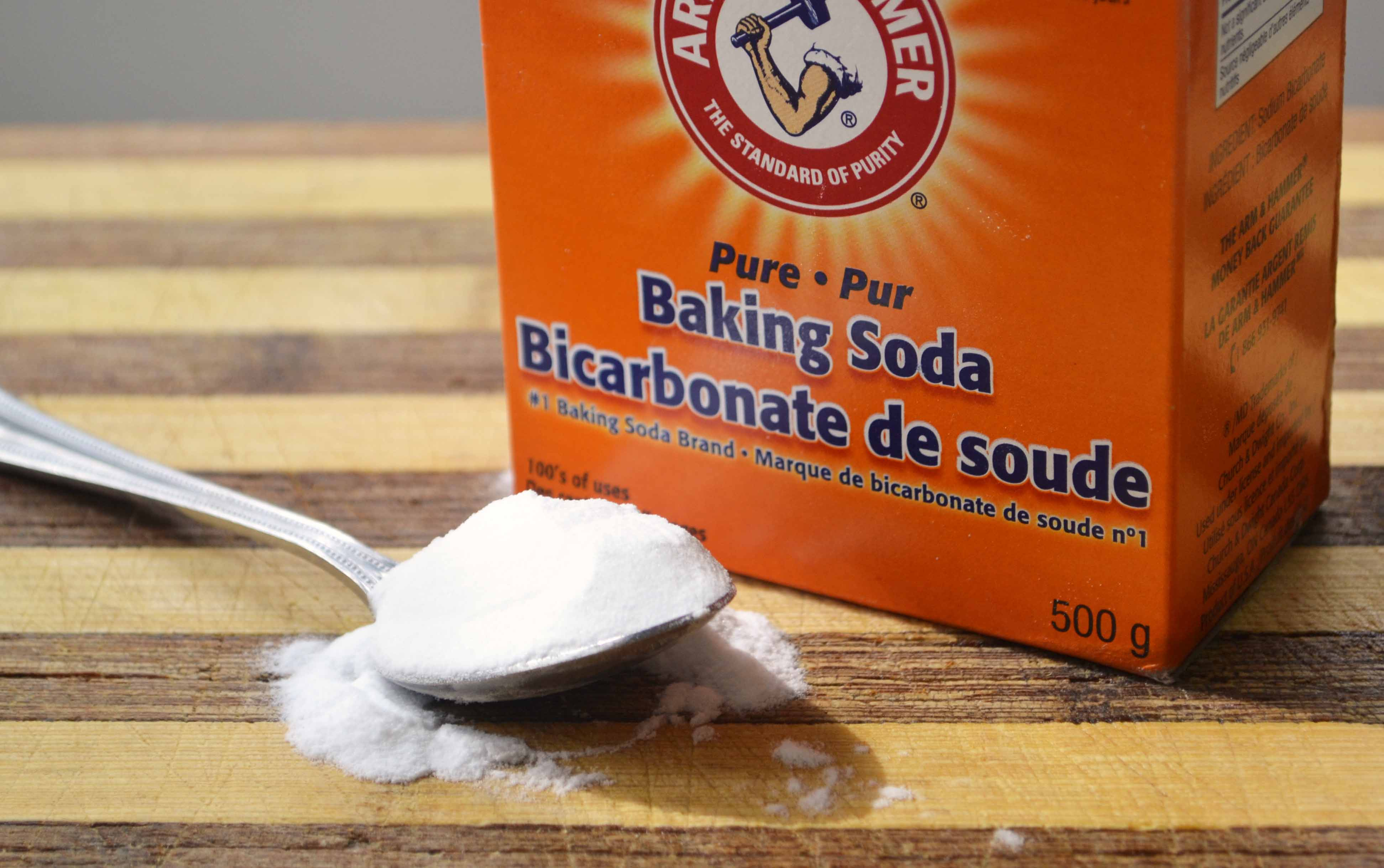 Variety of usage of baking soda