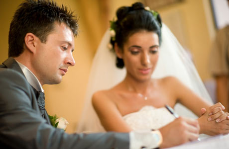 Marriage = business contract