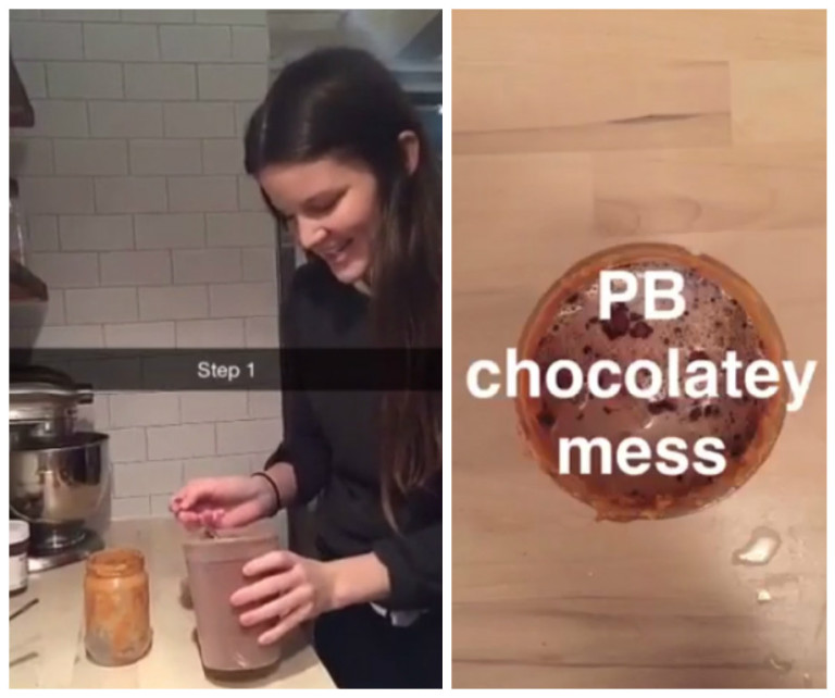Use Up Leftover Dregs of Peanut Butter by Making Hot Chocolate In the Jar
