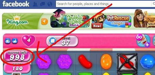 Candy Crush Saga – Cheat for Mozilla FireFox