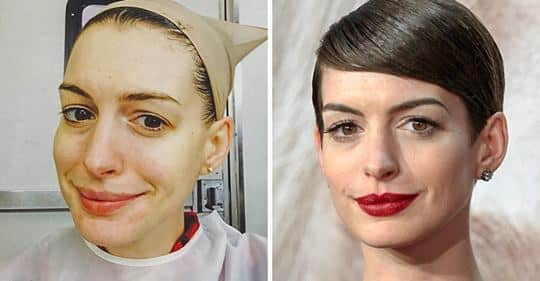 18 Celeb Photos That Prove Makeup Is Magic