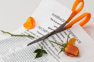 divorce law and divorce papers