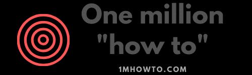 1mhowto.com