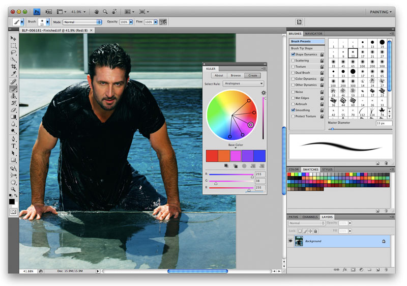 photoshop student is quite interesting Adobe product intersting